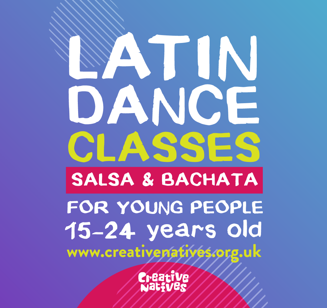 Free LATIN DANCE CLASSES FOR YOUNG PEOPLE (no partner needed)